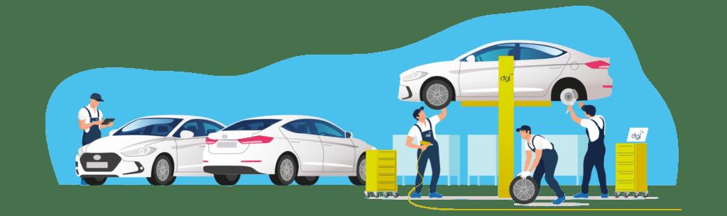 Para la gestión de talleres de neumáticos